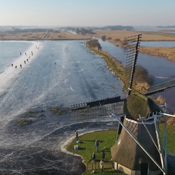 Schaatsplezier in Friesland