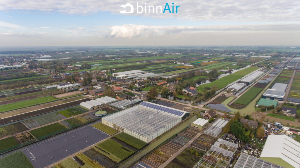 SunPark Innovation - binnAir - Zonnepanelen
