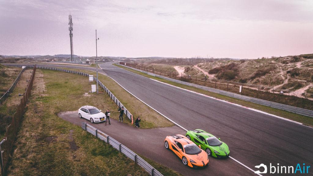 Drone op Circuit Park Zandvoort