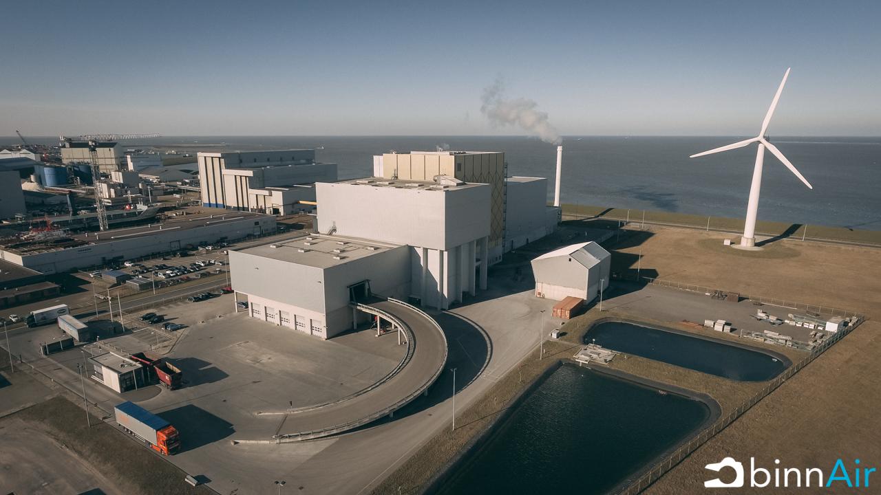 binnAir - ReststoffenEnergieCentrale (REC) - Harlingen