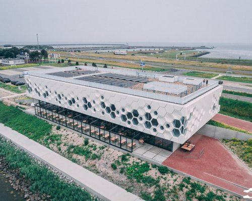 Het Afsluitdijk Wadden Center – Rients Faber