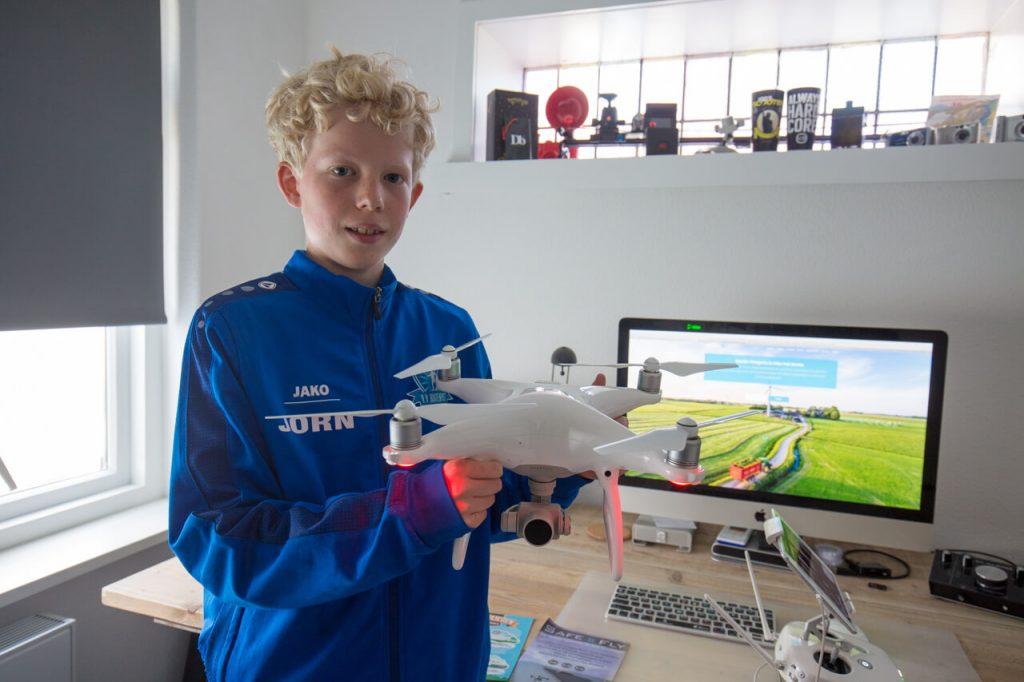Spreekbeurt over drones
