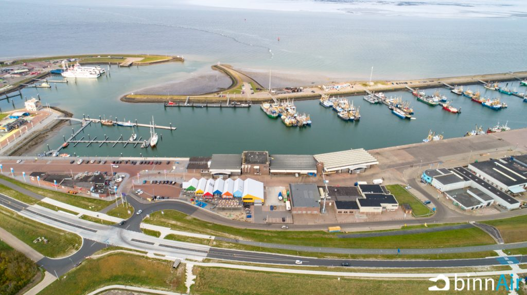 Haven Lauwersoog Drone