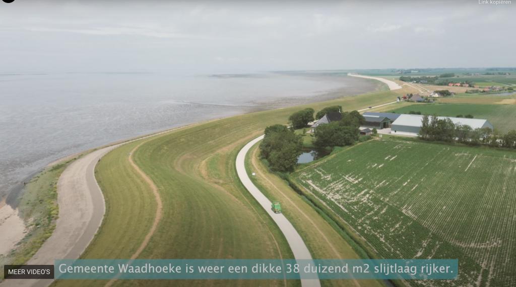 Drone gemeente Waadhoeke - Slijtlagen